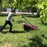 Երկրագործական աշխատանքներ Հյուսիսային դպրոցում, Սարալանջում