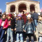 Թումանյան 150. Թումանյանական ֆլեշմոբ Երևանում